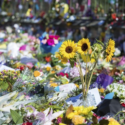 Tributes to Mosque Shooting Victims