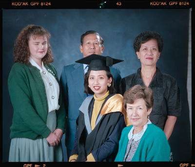 Negative: Miss Tay Graduate And Family