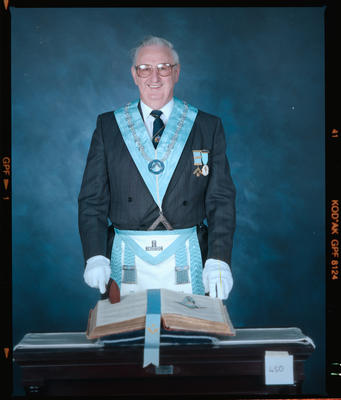 Negative: Unnamed Man Freemason