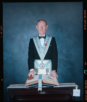 Negative: Mr Wright Freemason