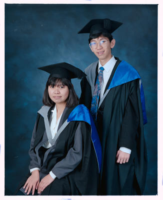 Negative: Mr Wong And Unnamed Woman Graduates