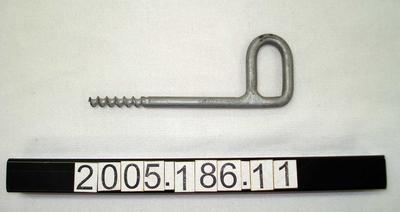 Ice screw; Early 1970s; ; 2005.186.11