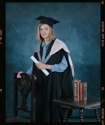 Negative: Anne-Marie Coughlan Graduate