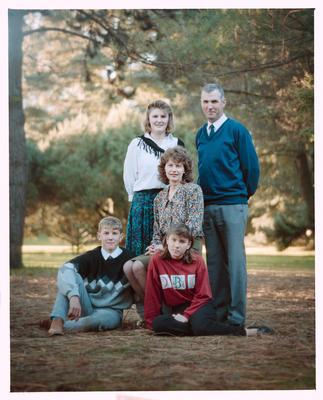 Negative: Morrison Family Portrait