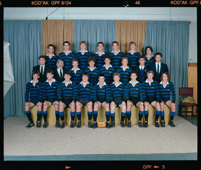 Negative: CBHS 4th XV Rugby 1991