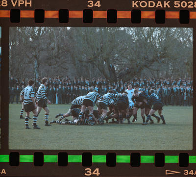 Negative: CBHS VS Christ's College Rugby 1991