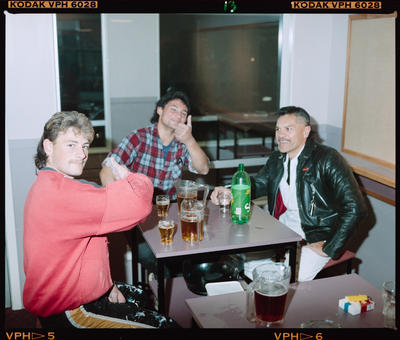 Negative: Three Men Avonhead Tavern