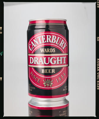 Negative: NZ Breweries Canterbury Draught Beer Can