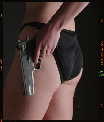 Negative: Charlotte Model Test Shots