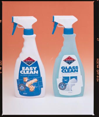 Negative: Simms Jones Spray Cleaners