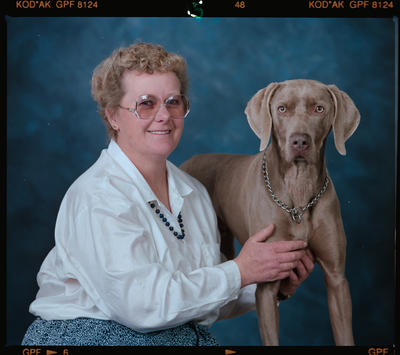 Negative: Unnamed Woman And Dog