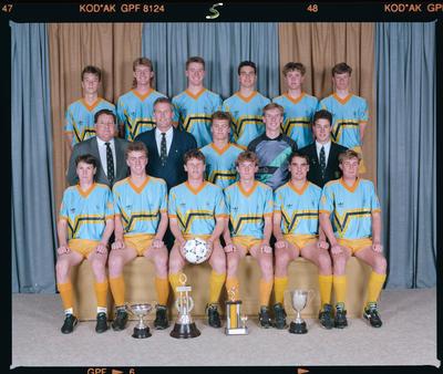 Negative: SBHS 1st XI Soccer 1991