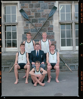 Negative: Christ's College Rowing Team 1991