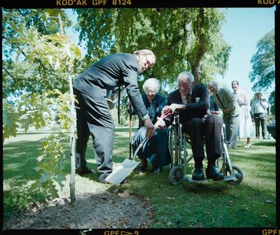 Negative: Deans Family Tree Planting