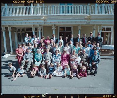 Negative: Deans Family Portrait