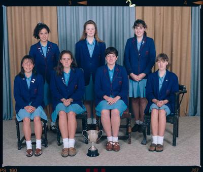 Negative: Marian College Tennis 1991