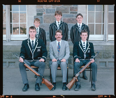 Negative: Christ's College Shooting Team 1991