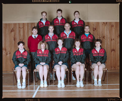Negative: Canterbury Badminton Rep Team 1991