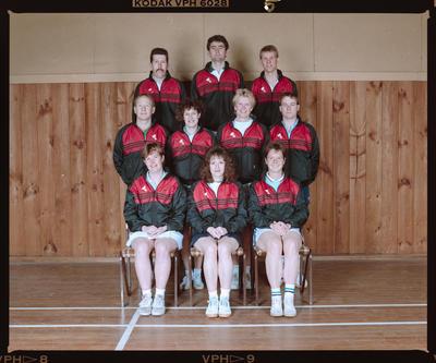 Negative: Canterbury Badminton Rep Team 1991