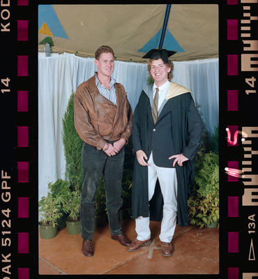 Negative: Unnamed Man Graduate And Man 1991
