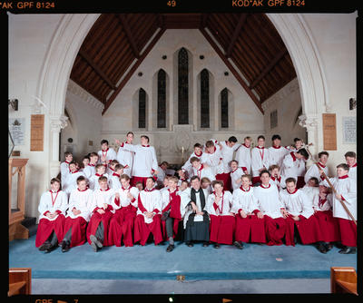 Negative: Christ's College Chapel Choir 1991