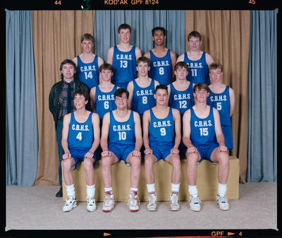 Negative: CBHS Senior Basketball 1991