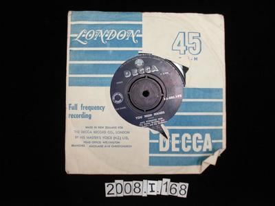 Decca Record: and Sleeve