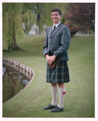 Negative: Mr John Trott, St Andrews 1991
