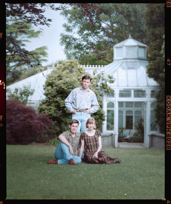 Negative: Robb Family Portrait