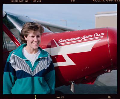 Negative: Jenny And Plane