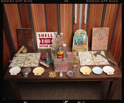 Negative: Shell Oil Old Relics