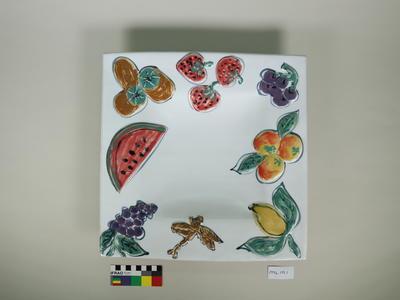 "Plate: ""Tropical Surprise"""