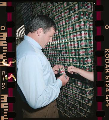 Negative: Sean Fitzpatrick At Brewery