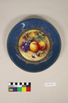 Plate, cabinet