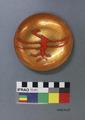 Bowl: Maori Rock Art