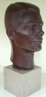 "Sculpture: portrait head:""Donald""/ ""Young New Zealander"""