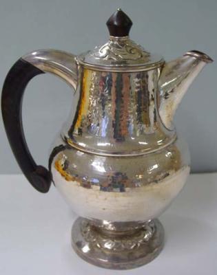 Jug, hot water: part of tea service