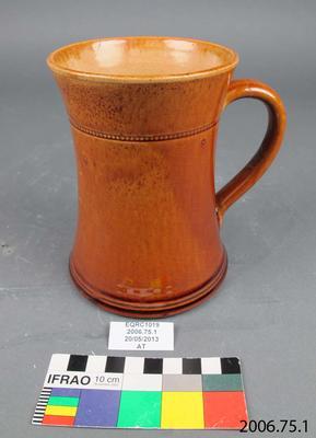 Mug: Brown Earthenware