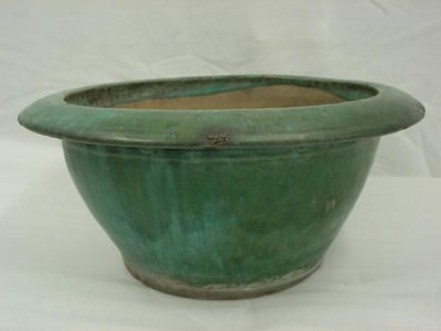 Flower pot and base
