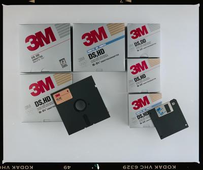 Negative: Top Mark Design 3M Diskettes