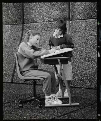 Negative: Kids At A Desk