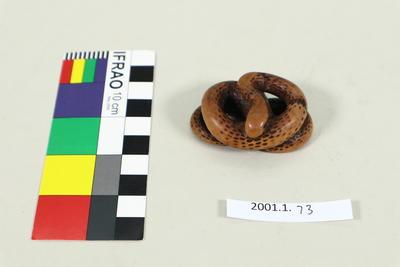 Netsuke snake