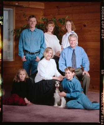 Negative: Nasmith Family Portrait