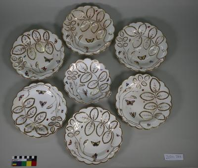 Plates and a dish