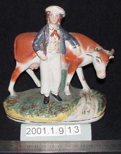 Figurine of a milkman