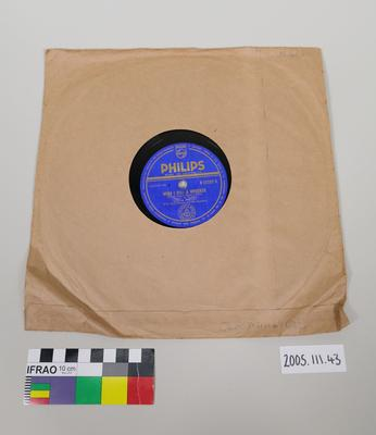 Philips Record: with Sleeve
