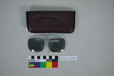 Sunglasses in case