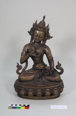 Brass Vajradhara Figure