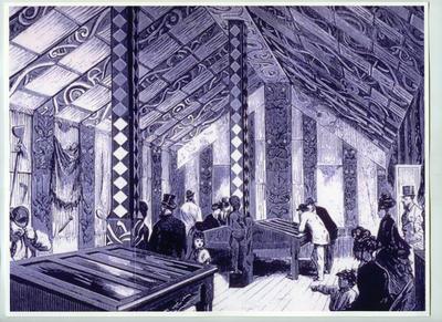 Photograph: Maori House, Canterbury Museum