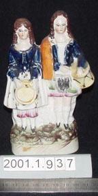 Figurine of musicians